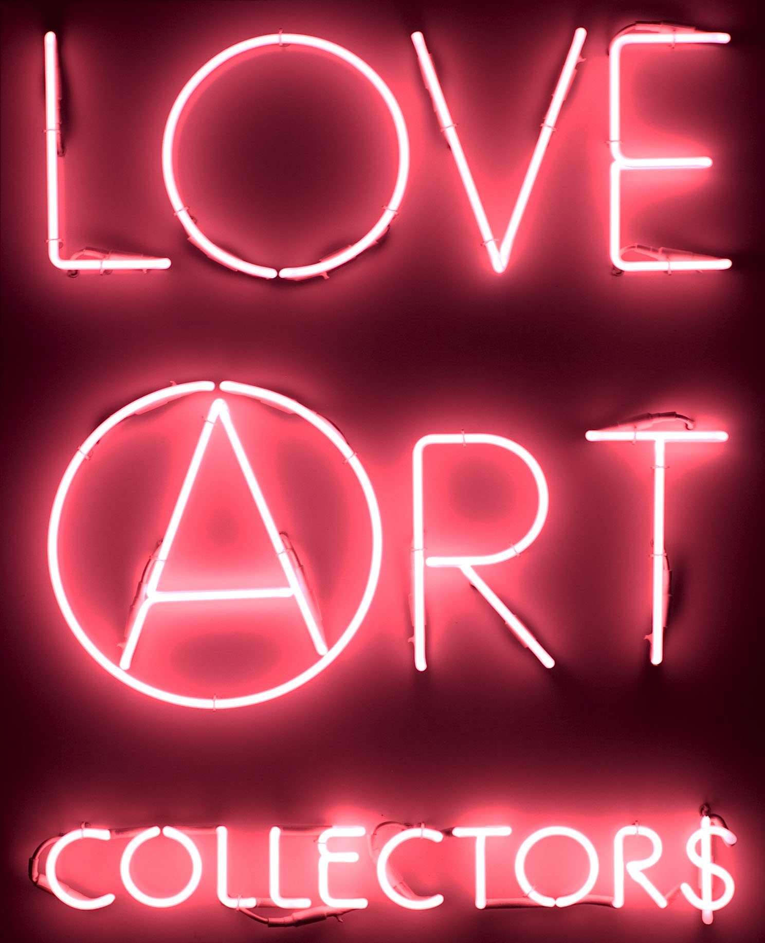 3A, LOVE ART COLLECTOR$, KINGS, 1-5 pink, cm 120x96, 2008, courtesy Marséll
